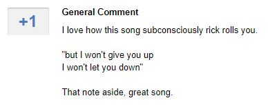 Comments about a Muse song